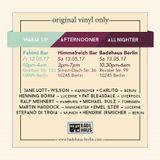 Soul'd Up Berlin [12./13.05.2017] Afternooner & Warm-Up spins