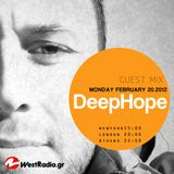 Deephope - Guest Mix @ Westradio