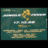 DJ Brockie + MC Det @ FUTURE Jungle Fever (17.10.1998)