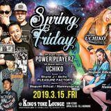 3/15(FRI) Spring Friday at OSAKA KING'S TONE LOUNGE 1st Round