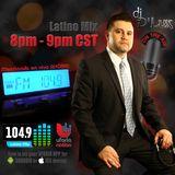 Partykingz DJ D'Lux Live on 104.9 Houston Latino Mix
