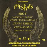 Sonar Off Week || 16th of June - Macarena Club Barcelona || Argy present These Days