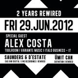 Alex Costa Dj set @ Rewired Sass Club Vienna 29/06/2012
