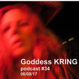 Podcast #34 Goddess KRING keyboard, poetry, figure modeling