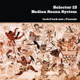 Badian Sauna System vs Selector 13 - Back2Back mix, Fazenda, 25-10-2013