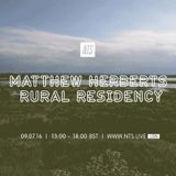 Matthew Herbert's Rural Residency: Accidental Junior Records - 9th July 2016