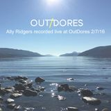 Ally Ridgers Live at OutDores | The Loch Ness Garden Party  on 2/7/16