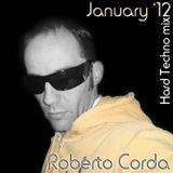 Roberto Corda - January Hard Techno mix nr.1