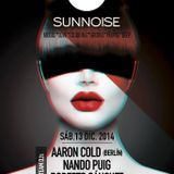 SunNoise [2014-12-13] - Live Session by Aaron Cold, Nando Puig & Robert Sanchez