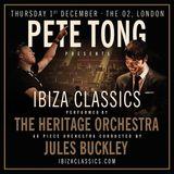 Pete Tong & The Heritage Orchestra @ Ibiza Classics - 01.DEC.2016