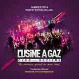 Compilation Usine à Gaz Winter 2014 - Mixed by Mathieu Cellucci