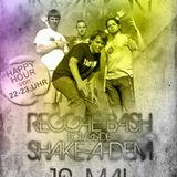 Dancehall Invasion Promomix Mai 2012 - Shakeadem lgs. Reggae Bash (Stuttgart)