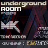 Underground ROOM : 11 - OCT - 2013 . Guess : JASANTOS