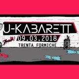 U-KABARETT  09.03.2018 - Trenta Formiche
