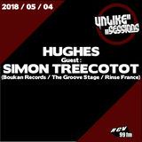 Unlike Sessions Radio Show - 2018-05-04 - Hughes / Guest : Simon Treecotot