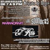 Brigada junto a   Editorial Cthulhu, Hada Verdugo, Mariano Mart, Los Sounders y El Rito