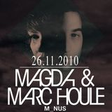 Magda & Marc Houle – Live @ Room26, Casa Nostra, Rome, Italy – 26-11-2010 (part.1)