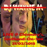 Wayne M 'Live' @ Chinnery's