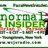 Paranormal News Insider with Host Dr. Brian Parsons 20170221  #303