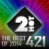 Luboš Novák - 2Hot 421 [Best Of 2014] (1.1.2015)