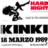 Kinki 18 marzo 1989 - Swan DJ