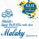 LiquidDnBCrew Show w/ MALAKY GUESTMIX 5th March 2013