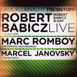 Robert Babicz -Live- (Systematic Recordings) @ 40th Birthday Party, Gewölbe - Köln (05.01.2013)