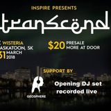 GEOSPHERE opening DJ set at Transcend Rave Party 2018