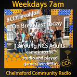 Monday Breakfast - @CCRBreakfast - Lucy, Rob and Jamie - 04/08/14 - Chelmsford Community Radio