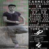 BLUDEEPNIGHTS RADIO SHOW w/ Carmelo Gargaglione // Yoruba Grooves//Deep-Tech Records//Westradio.gr