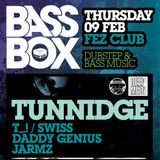 Bass Box - The Return 9th Feb 2012 - Jarmz promo mix