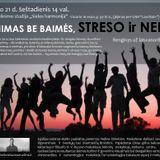 Egidijus Gubinas. Linksmai apie baimes, nerimą ir stresą :) 2014 02 13 Vilnius
