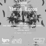 Hector - Live @ BPM Portugal 2017, Vatos Locos Cloque Bar (Portimao, PT) - 17.09.2017