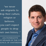 Sonono Radio interview with JAN PATERNOTTE; The Speaker Of The City Council Of Amsterdam