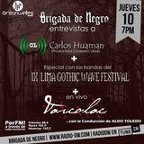 Brigada junto a Carlos Huaman+ IX Lima Gothic Wave Festival +Varcolac
