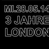Serach Epstein | 3 Jahre London Underground After Hour | 28.05.14