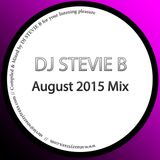 @djstevieb - August 2015 mix