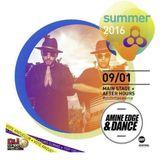 2016.01.09 - Amine Edge & DANCE B2b Bruno Furlan & Du Serena @ Anzu Terraza, Itu, BR