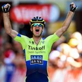 Michael Rogers on his first-ever stage win at the Tour de France