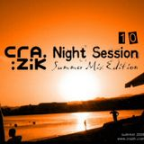 Crazik - Night Session 010 (Summer Mix Edition) on Paris-One - June 2008