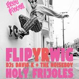 Flip Yr Wig at Holy Frijoles - Baltimore 11.02.18