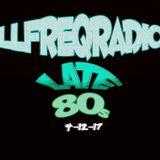 illfreQRadio 80's Hiphop Mixx : PUMP up the VOLUME 4-12-17