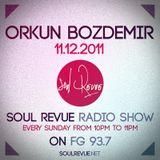 Orkun Bozdemir - FG Sunday Residents - 11.12.2011- SOUL REVUE RADIO SHOW