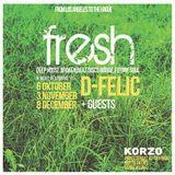 D-Felic DJ set @ FRESH, The Hague