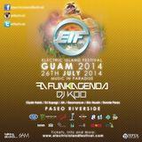 Funkagenda - Live @ Electric Island Festival (Guam) 2014.07.26.