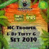 MC Trooper & Tufty G Roots Rebels. Indigenous Festival Set. Ruff Cut.