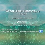 Artelized Visions 044 (August 2017) with guest Shake on DI FM