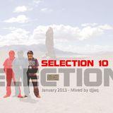 Selection 10 ME (January 2013 - Mixed by djjaq) Part.01