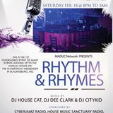 DJ Dee Clark LIVE Reagge, RnB, and Hip-Hop Mix at Rhythm and Rhymes party at Safari Lounge