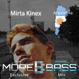 More Bass Exclusive Mix, Episode Fifteen. Mirta Kinex from Argentina (Dubstep) morebass.com